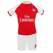 Official Arsenal FC Baby Shirt And Short Set