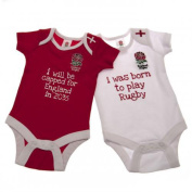 Official England RFU Baby Bodysuit (9-12 Months)