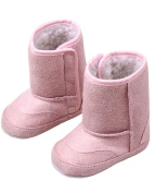 Minetom Baby Winter Warm First Walking Shoes Soft Sole Toddler Snow Boots