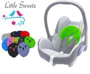 Sweet littlez * * Cosy Head - Black * * PILLOW/CUSHION Reductora per Maxi Cosi Pebble/Pebble Plus