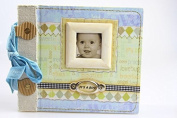 """It's A Boy"" Baby Boy Scrapbook Photo Album"
