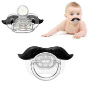 Kfnire Funny Moustache Dummy Dummies Pacifier Novelty Baby Child Soother Lips Joke