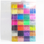 Baby Teether Toys 5mm Perler Beads 28 Colours 18000pcs Box Set(3 Template+5 Iron Papers+2tweezers) Fuse/hama Beads Diy Educational Toys Gift