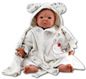 Bebi Baby Boys' Robe - Beige - One Size