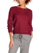 Compañia Fantastica Women's Roma Maternity Jumper, Red (Burdeos), Medium