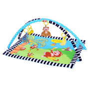 Ametoys 90 * 66 CM Baby Playing Crawling Mat Sleeping Mat Pad Soft Padded Cushion Carpet Washable Blanket for Baby