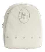 Collection Rosabel Damaris Backpack for Baby, White/Grey