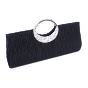 SWEETBB Ladies Luxury Rhinestone Evening Clutch with chain for Wedding, Evening Parties