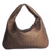 Leather Woven Bag Handbags Fashion Hand-woven Shoulder Bag