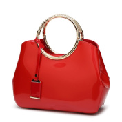 Patent Leather Shiny Handbag Bridal Wedding High-grade Atmosphere Handbag Female Shoulder Inclined Stereotypes Package