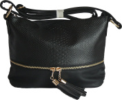 Ladies Compact Designer Messenger \ Crossbody \ Evening Handbag by DL Accessories - Paris