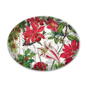 HOLIDAY CHRISTMAS COLLECTIONS Glass Soap Dish from FND Promotion by Michel Design Works