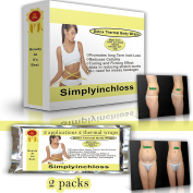 it works 10cm loss HOT DEAL SPECIAL OFFER lipo body wraps 4 clay/mud/cream applications 4 thermal sauna wraps aids in cellulite reduction stretch marks smooths and tones skin