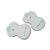 Vinmax 2PCS Electrode Pads For Tens Acupuncture Digital Therapy Machine for Body Massager Pain Relief Acupuncture Back