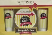 Perfect Pamper Collection Body Selection Warm Vanilla Gift Set