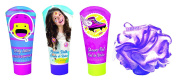 Soy Luna Set with 100 ml Shower Gel, 100 ml Body Lotion, 100 ml Shampoo and Sponge