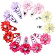 Baby Beauty Hair Bows Clips Pins Toddler Infants Kids Girls Boutique Accessories Grosgrain Ribbon headdress
