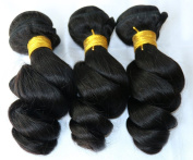 Brazilian Loose Wave Virgin Hair 3 Pcs Curly Weave Cheap Unprocessed Brazilian Hair Extensions Bundles 100% Human Hair Soft -22 24 70cm