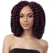 Fluffy Wand Curl 2X FreeTress Crochet Synthetic Braiding Hair