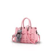 New Girl/Female Sweet Fashion Handbag Messenger Bag Crossbody Shoulder Purse Tote Light Pink Nicole & Doris