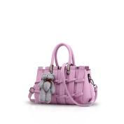New Girl/Female Sweet Fashion Handbag Messenger Bag Crossbody Shoulder Purse Tote Purple Nicole & Doris