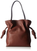 Loewe Bag Handle Shoulder Flamenco Knot Dark Brown