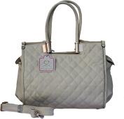 Ladies Quilted Shoulder \ Tote Handbag