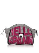 Today Collection Bag Cosmetics Hello Spa Lettering Black/Grey