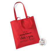I'M A DRIVING INSTRUCTOR WHAT'S YOUR SUPEROWER. Cotton Tote Bag Gift Bag Christmas Xmas Present Keepsake