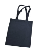 Tote bag shoulder cotton bag with claim Schnauze voll ich geh jetzt zaubern / Cotton Short Handle Shopping Bag / Tote, black