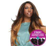 [4 Strands Sensationnel Too XL Mixx - Complete Package + Closure Venetian Wave - Human Hair Blend Weave