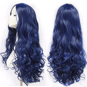 """Hot products!!Meisi Hair Wigs 28"""" 70cm High Quality Women's Cosplay Wig Long Full Spiral Curly Wavy Heat Resistant Fashion Glamour Hair Wig Hairpiece with Free Wig Cap (Colour"""