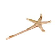 Malloom Cute Hair Cuff Clip Jewellery Hairpin Womens Accessories Xmas Gift Starfish C