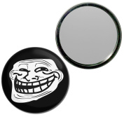 Troll Face - 77mm Round Compact Mirror