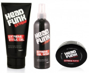 "Head Funk Extreme Style CHRISTMAS GIFT SET 3 PIECES NO BOX ""BARGAIN"""
