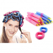 12 pcs Nice Hair Harmless Curling Rollers Perfect Pro-make up Styling Tools for Great Dating Hair Dressing