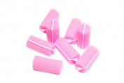 6 pcs Pink Hair Harmless Styling Tools, Magic Pro Makeup Twist Curling Tools Salon Home DIY Use