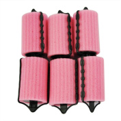 10 pcs Yellow High Quality Plastic Hair Styling Rollers Hair Harmless Sleeping Styling Tools for Dating Hair Dressing