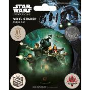 Star Wars Rogue One Rebels Sheet of Vinyl Stickers