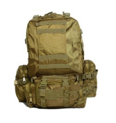 MM-Combination backpack/shoulder tactic back-backpacks/outsourcing/colour Camo package , khaki