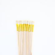 10 pcs white Wool Brush,sweep gold leaves,Good quality wool brush,soft, a good tool for gilding leaves,