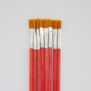 10 pcs red Wool Brush,sweep gold leaves,Good quality wool brush,soft, a good tool for gilding leaves,