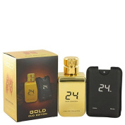 24 Gold Oud Edition by ScentStory Eau De Toilette Spray + 25ml Mini Pocket Spray 100ml