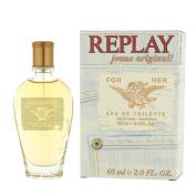 Replay Jeans Original for Her Eau de Toilette 2.0oz (60ml) Spray