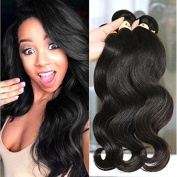 QTHAIR 8a Grade Indian Body Wave Hair 3 Bundles 300g 70cm 70cm 70cm 100% Unprocessed Raw Indian Virgin Hair Body Wave Natural Colour Curly Hair Extensions