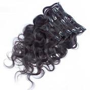 Prida Star Clip Hair Malaysian Body Wave Virgin Human Hair Baby Hair 100% Human Hair 130% Hair Density