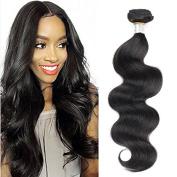 10A Grade Unprocessed Brazilian Virgin Hair Body Wave Natural Colour Natural Colour QT Hair Brazilian Remy Hair Bundles 70cm 1 Bundle 100g