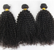 ATOZHair 8A 100% Brazilian Virgin Hair 2 Bundle Unprocessed Extensions Curly Wave Nature black Human Hair 100G/Bundle 200Gram in total