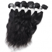 OMGA Brazilian Virgin Hair Nature Wave 6pcs 1B #2 #4 200g/set 530cm 540cm 540cm Human Hair Weave