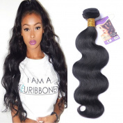 Kapelli Hair(TM)7A Virgin Brazilian Hair 1 Bundle Brazilian Body Wave Remy Hair Extensions Natural Colour Human Hair Weave (60cm